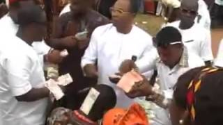 Edo Guys Spray Money Uncontrollably at an Event
