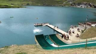 water jump tignes aout 2009