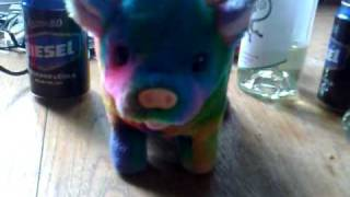 Rainbow Cow!