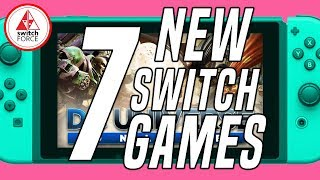 7 COOL NEW Switch Games JUST ANNOUNCED + NEW GAME GIVEAWAY!! (2019 Nintendo Switch Games)