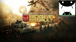 War Commander: Rogue Assault Android GamePlay (By KIXEYE)