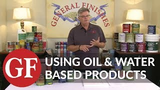 Can Oil and Water Based Products Be Used Over One Another?