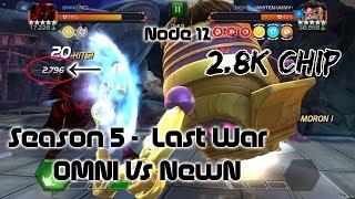 [AW] OMNI vs NEWN Round 2  [Modok Node 12] - Marvel Contest of Champions