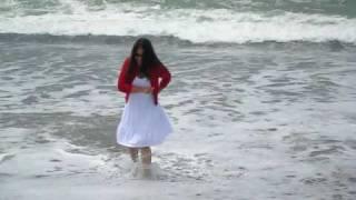Amy&Elliot pacifica beach wedding ceremony wet videographer 080109