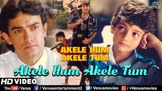 Akele Hum Akele Tum - HD VIDEO SONG | Aamir khan & Manisha | 90