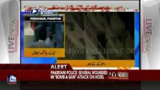 Bomb Blast At Pakistani Luxury Hotel