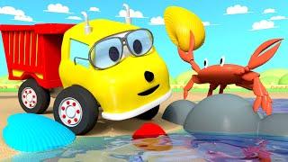 Apprendre les couleurs - Aide le crabe à retrouver son coquillage ! Ethan le Camion Benne 🚚