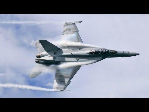 2015 Abbotsford Airshow F-18 Super Hornet demo
