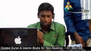 Convert to Islam (Tamil) Aadam BSC @ Siva Way to Paradise Class