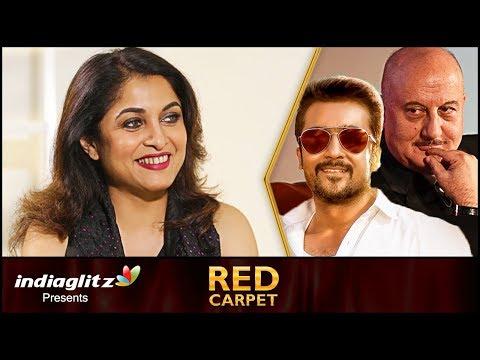 Xxx Mp4 I Play The Female Version Of A Legendary Actor Ramya Krishnan Red Carpet Interview TSK Party 3gp Sex