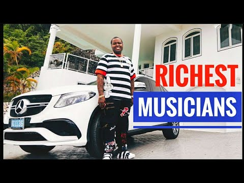 TOP 10 RICHEST MUSICIANS IN JAMAICA AND THEIR NEW WORTH 2018