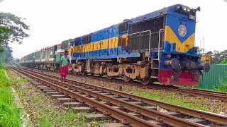 Silk City Express : Luxurious Train Of Bangladesh Railway Running Towards Rajshahi