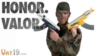 AK-47 Water Gun - Fully Automatic, 100% Awesome