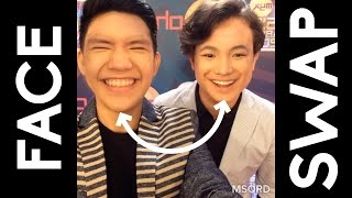 FACE SWAP with Darren, JK, Hashtags, Bretman Rock, MYX VJs and more!