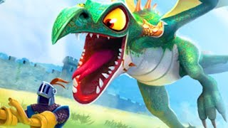 DRAGON TRANSFORMS INTO GIANT DRAGON - Hungry Dragon Gameplay Part 1 | Pungence