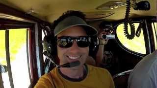 Plane crash video from inside cockpit