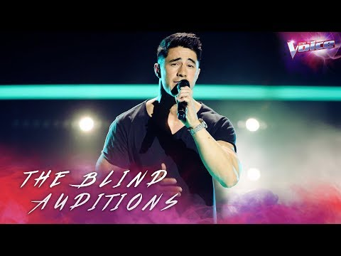 Blind Audition: Brock Ashby sings Use Somebody | The Voice Australia 2018