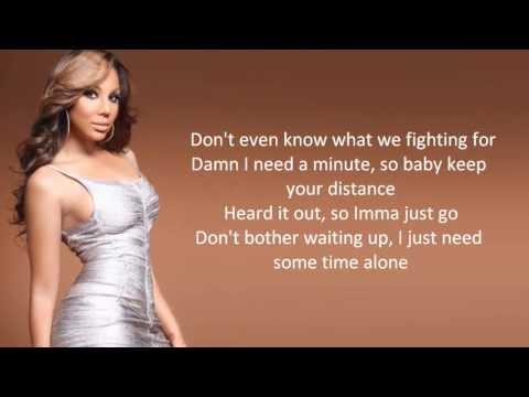 Tamar Braxton All The Way Home Lyric Video