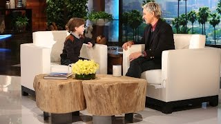 Jacob Tremblay Joins Ellen for the First Time