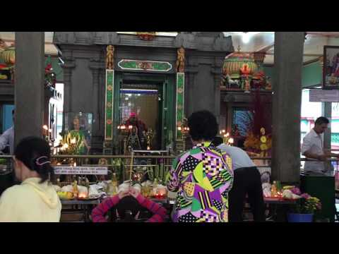 The Mariamman Temple in Ho Chi Minh City, Vietnam