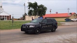 Piedmont Police unit responding arriving on scene of Signal 82