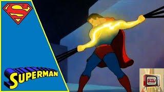 SUPERMAN I 1940s CARTOON | THE MAGNETIC TELESCOPE