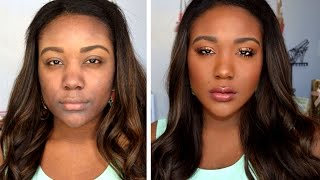 HOW TO: Makeup Tips For Black Women - Everyday Makeup Tutorial Routine for Dark Skin