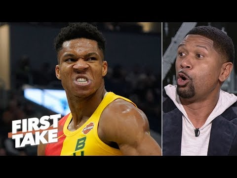 Giannis is better than James Harden but isn t the MVP Jalen Rose First Take