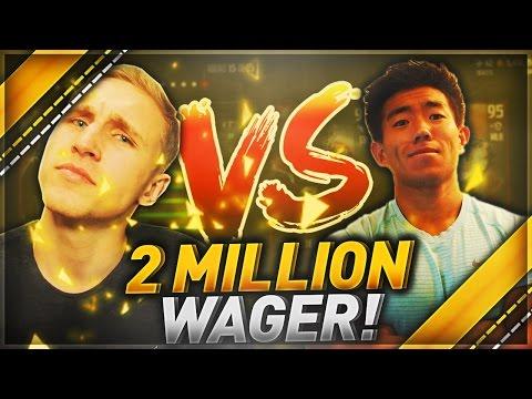 2 MILLION COIN WAGER!! MMG VS. KAYKAYES DRAFT CHAMPIONS!!