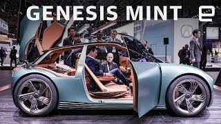 Genesis Mint Concept at the New York Auto Show