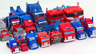 Transformers Mini & Deluxe Optimus Prime 14 Vehicles Truck Transformation Robot Car Toys