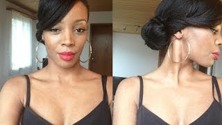 Hair style   Coiffure Glam, chic et rapide