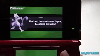 Free Mewtwo DLC for Super Smash Bros for 3DS Promotion