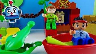 Peter Pan Jake y los Piratas LEGO La visita de Peter Pan Jake Peter Pan's visit - Juguetes de Jake