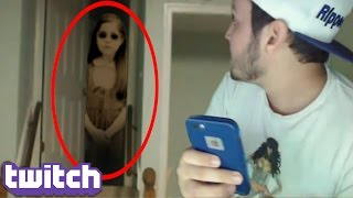 Top 5 Twitch Streamers WHO CAUGHT GHOSTS ON STREAM! (Twitch Live Stream Ghost Sightings)