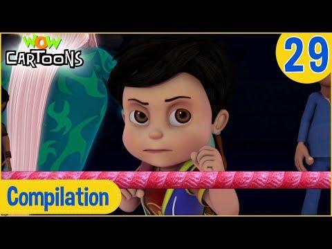 Vir The Robot Boy | Hindi Cartoon | Action Cartoons for Kids | Compilation #29 | 3D Cartoons
