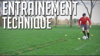 ENTRAINEMENT TECHNIQUE | FOOTBALL