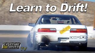Learn to Drift - How to and Exercises with Drift 101 - Everyday Driver Adventure