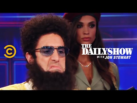 The Daily Show Admiral General Aladeen