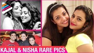 Kajal Aggarwal & Nisha Aggarwal Rare Pics | Unseen Pics | Telugu Filmnagar