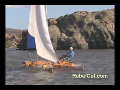 Why Make A RebelCat PVC Pipe Catamaran Sailboat