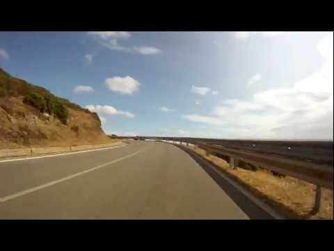 Driving in Sardinia Masua Fontanamare