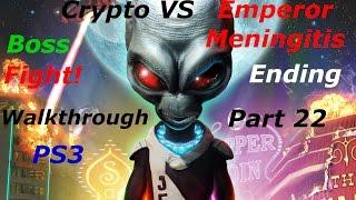 Destroy All Humans! Path of The Furon PS3 Walkthrough Part 22 Ending