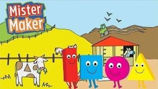 Farmyard | The Shapes Dance | Mister Maker
