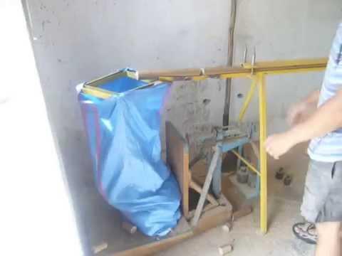Brykieciarka mechaniczno tłokowa własnej roboty