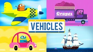 StoryBots   Vehicles Songs   Learn About Trucks, Trains, Boats and Planes   Classic Songs for Kids