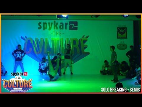 BBoying Semis ArtTeck(RocFresh) vs Maruf(UDK) Spykar The Culture'16