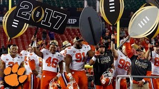 "Clemson Defeats Alabama: ""We"