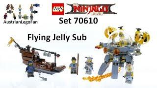 Lego Ninjago Movie 70610 Flying Jelly Sub - Lego Speed Build Review
