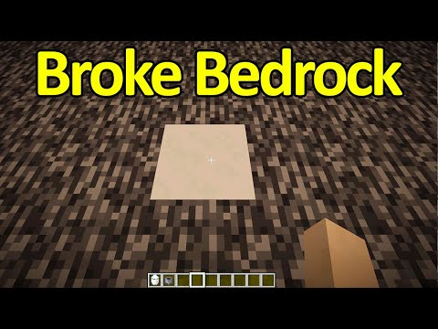 New Way to Break Bedrock in 1.17